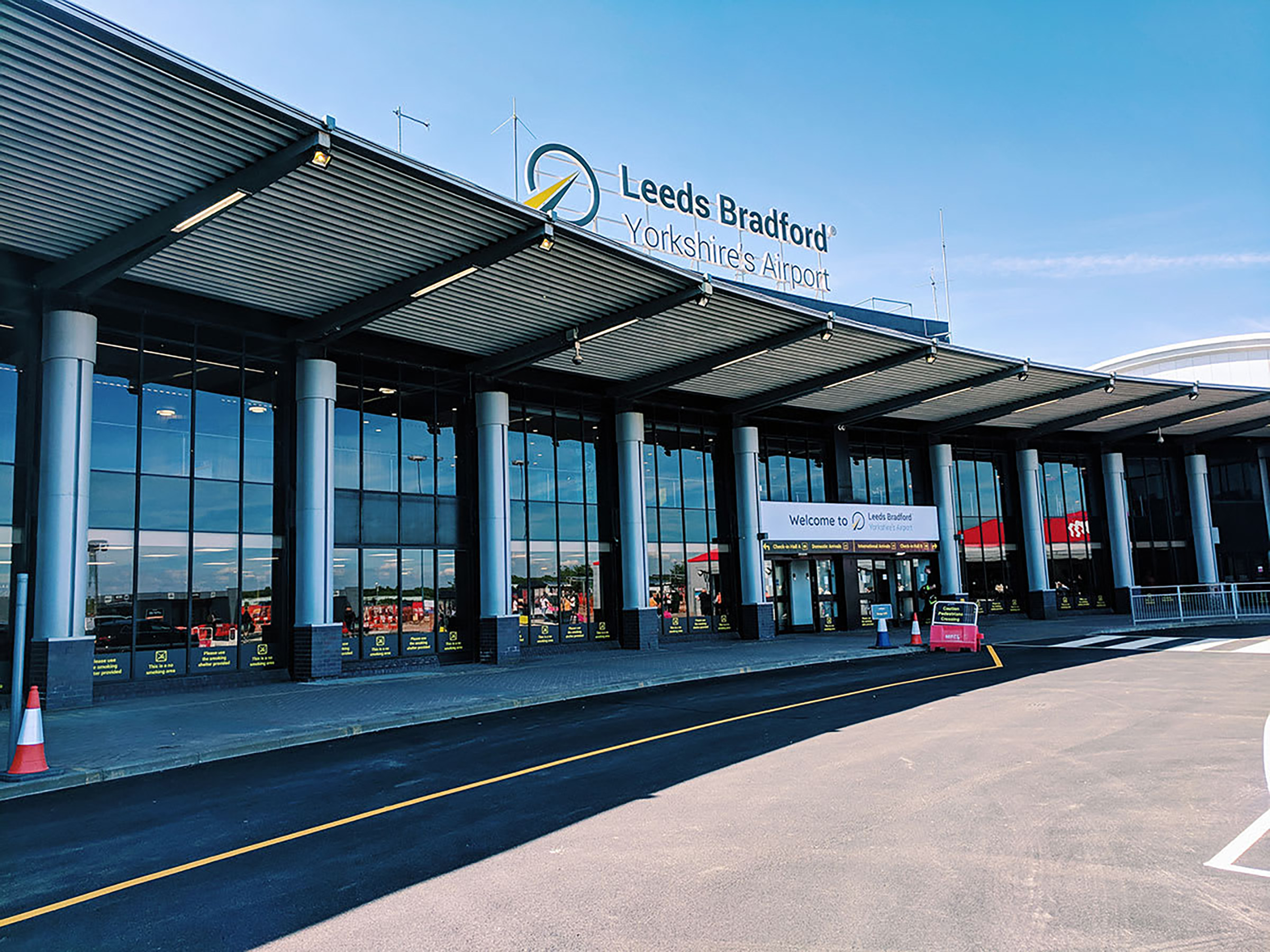 Travel to Leeds Bradford by air